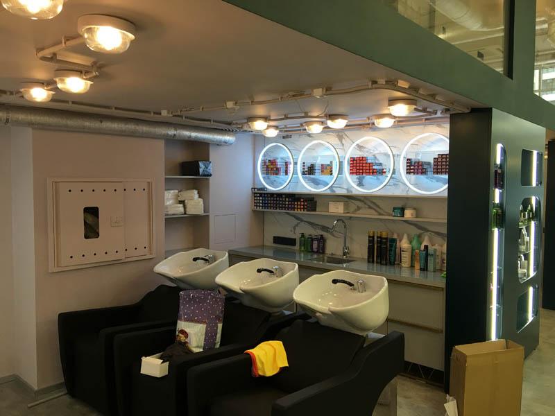 изгтовление мебели для салона красоты, мебель для салона красоты, комплексное оформление салона красоты, дизайн салона красоты