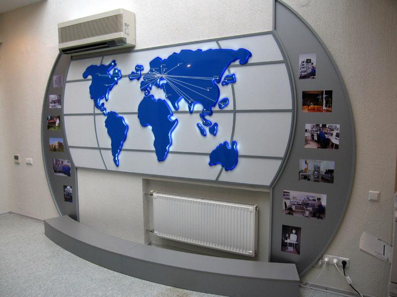 комплексное оформление офисного помещения, планировка офиса, офисная мебель, мебель для бизнеса, витрина