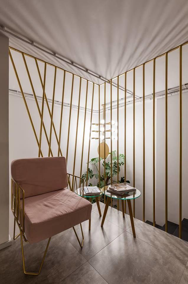 индивидуальная мебель, дизайнерская мебель, оформление салона красоты, дизайн салона красоты